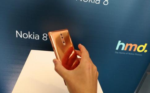 Nokia 8 được chính thức ra mắt, giá khoảng 16 triệu đồng
