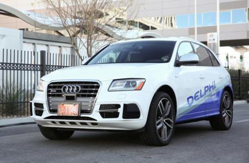Ôtô tự lái chạy xuyên nước Mỹ