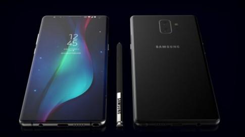Samsung 'chơi lớn' với Note 9: pin khổng lồ và cảm biến vân tay dưới màn hình