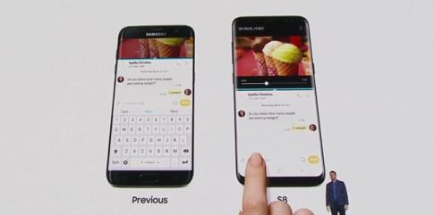Samsung Galaxy S8, S8 Plus có 5 màu, nút Home cảm ứng ẩn bên dưới màn hình