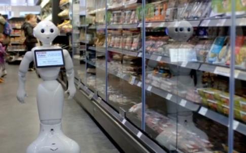 Siêu thị Anh thực hiện vụ sa thải 'nhân công robot' đầu tiên trên thế giới
