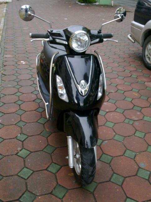 SYM Attila Elizabeth màu đen bstp 2k11 mới 95% xe đẹp máy êm nguyên zin