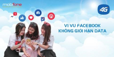 Tín đồ Facebook livestream xả láng, cả ngày miễn phí data với gói FA MobiFone