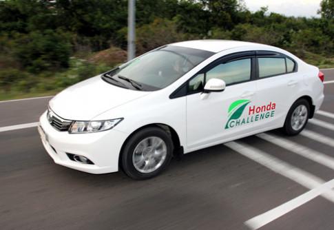Trai nghiem chuc nang Econ tren Honda Civic 2012