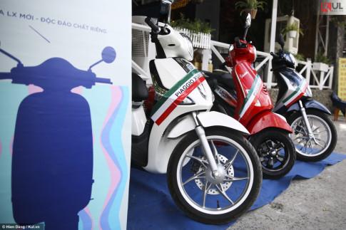 Vespa Lx iGet 125 chính thức có mặt tại Việt Nam