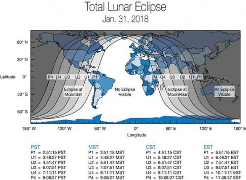 Xem hiện tượng thiên văn 35 năm mới gặp một lần ở đâu?