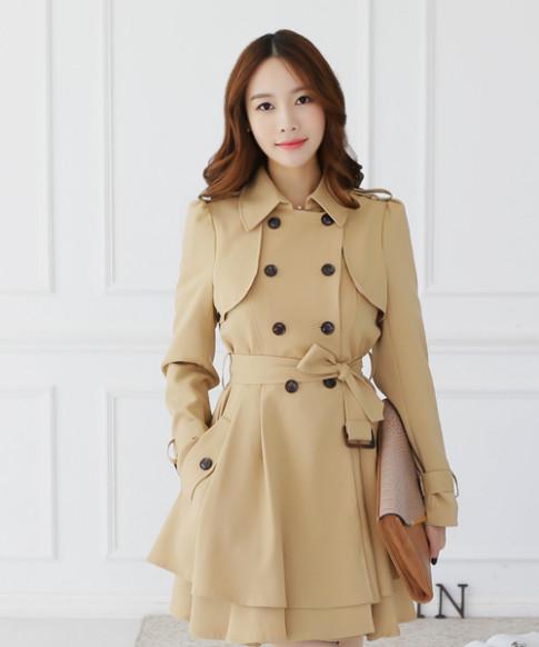 Xinh tươi đón mùa rét cùng áo khoác dài