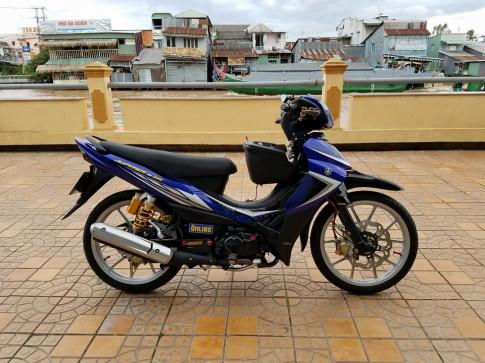 Yamaha Jupiter với những món đồ chơi đắt tiền