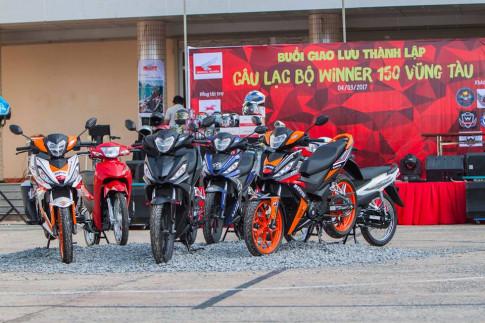 CLB Winner 150 Vũng Tàu ra mắt hoành tráng với hàng trăm xe tham dự