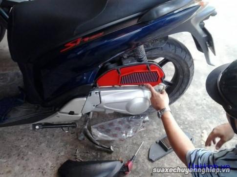 Thay lọc gió xe máy giá bao nhiêu?
