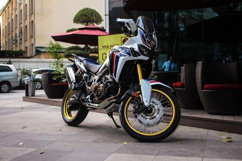 Chi tiet Honda CRF1000L Africa Twin DCT 2017 dau tien tai Viet Nam