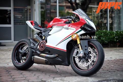 Ducati Panigale 1199S Tricolore xa xỉ hơn với màn nâng cấp ấn tượng