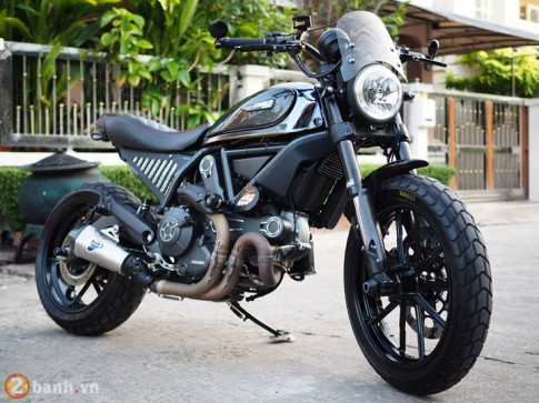 Ducati Scrambler dep hon trong dien mao moi day sang chanh