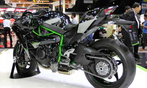 Hình ảnh chi tiết Kawasaki Ninja H2