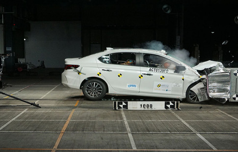Honda City 2020 dat chung nhan an toan 5 sao cua Asean NCAP