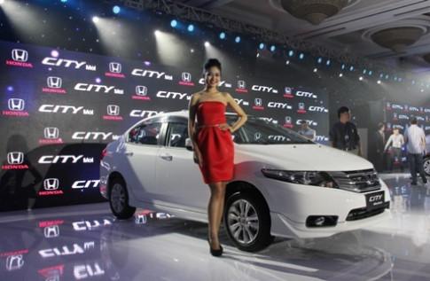 Honda City - mau xe the thao ca tinh