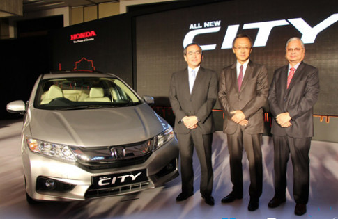 Honda City thế hệ mới ra mắt