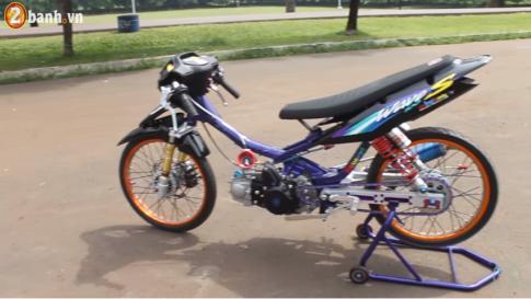 Honda Wave độ Drag đầy chất chơi của Biker Thái Lan