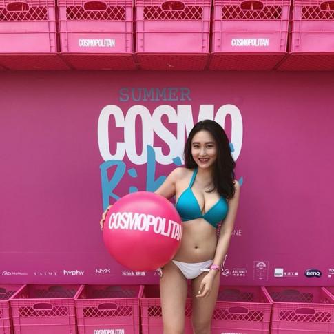 Mỹ nữ gốc Việt mặc nổi nhất sự kiện ở Đài Loan