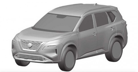 Nissan X-Trail the he moi lo them hinh anh phac hoa chi tiet