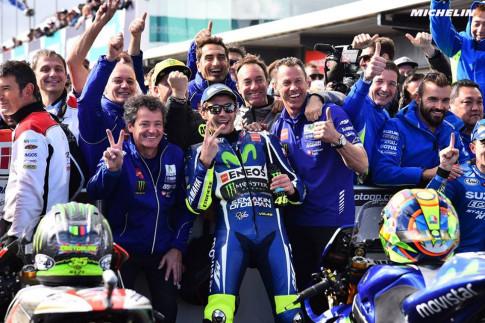 Rossi: Podium giành được tại Grand Prix Nước Úc 2016 mang một ý nghĩa động viên tinh thần rất lớn