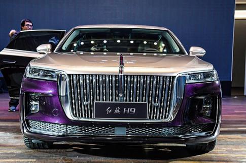 Xe Hong Ky H9 cua Trung Quoc ra mat canh tranh voi Rolls Royce