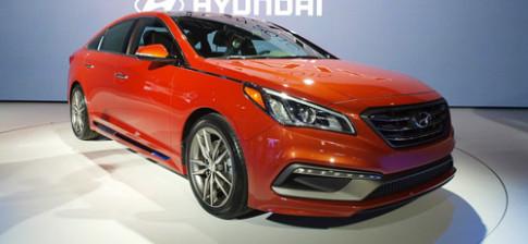 Ảnh chi tiết Hyundai Sonata 2015