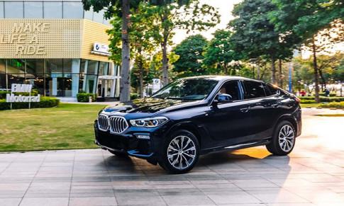 Cận cảnh BMW X6 xDrive40i M Sport giá 4,829 tỷ đồng vừa ra mắt thị trường Việt