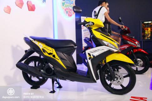 Chi tiết Yamaha Mio M3 125 giá 1.130 USD