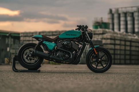 Harley Street 750 mẫu môtô giá rẻ độ độc với chi phí thấp