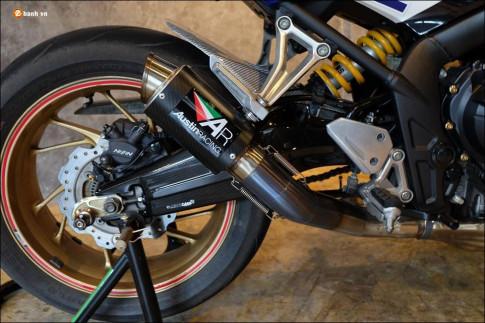 Honda CB650F độ phong trần qua bộ cánh HRC