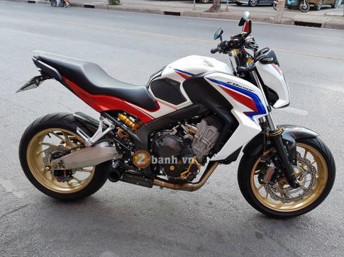 Honda CB650F sự nâng cấp đầy sang chảnh và phong cách