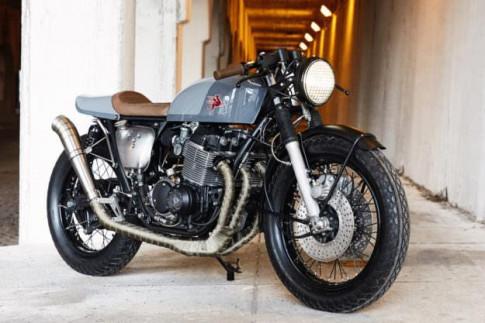 Honda CB750K độ Cafe Racer cùng câu chuyện bị nguyền rủa