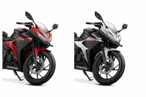 Honda CBR150R 2017 bổ sung thêm 2 màu mới với giá 56 triệu đồng