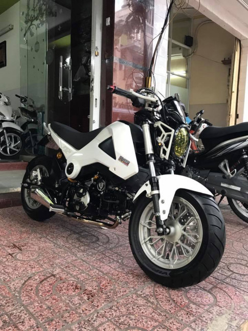Honda MSX làng gió mới của dòng xe côn tay Monkey Việt Nam