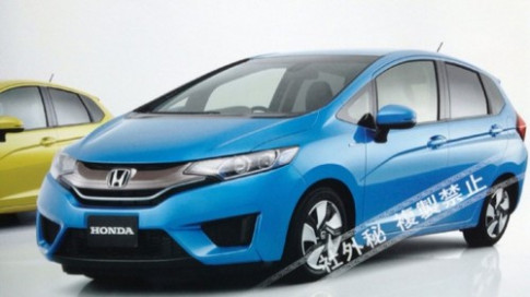 Honda tiet lo Jazz the he moi