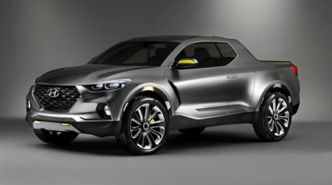 Hyundai Santa Cruz - mau ban tai phat trien tren nen tang Tucson the he moi