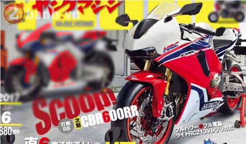 Những hình ảnh Render đầu tiên về mẫu Honda CBR600RR thế hệ mới