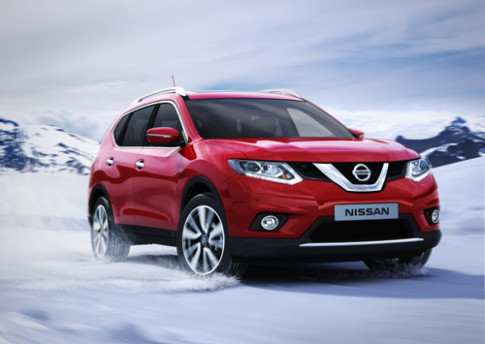 Nissan X-Trail the he thu ba ra mat