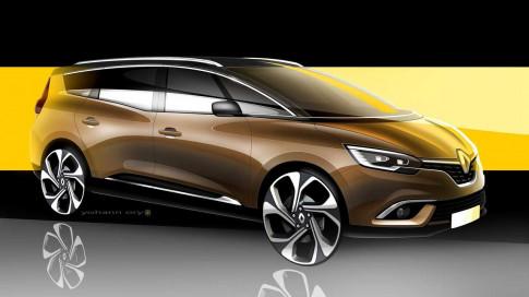 Renault gioi thieu mau Grand Scenic MPV hoan toan moi