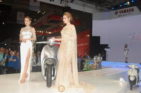 Vietnam Motorcycle Show 2017 - Khách tham quan có thể chiêm ngưỡng vẻ đẹp của gần 20 mẫu xe Yamaha