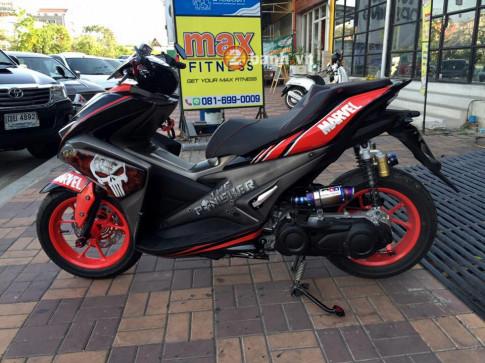 Yamaha Aerox 155 Kẻ Trừng Phạt đến từ Marvel