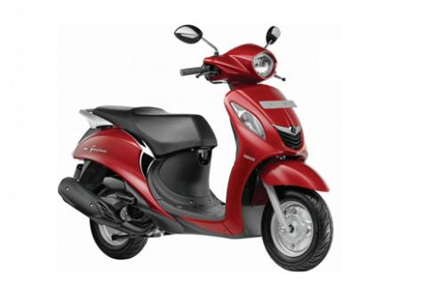 Yamaha Fascino - scooter mới giá 820 USD tại Ấn Độ