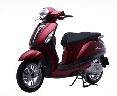 Yamaha Grande động cơ Blue Core thế hệ mới