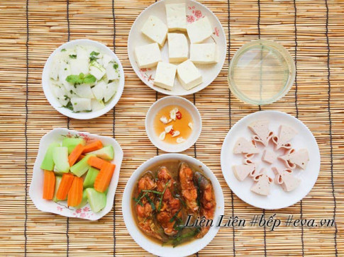Bữa ăn đơn giản mà ngon miệng cho cả nhà