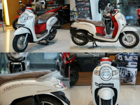 Honda Scoopy mới sẽ trình làng với bộ khung eSAF siêu nhẹ