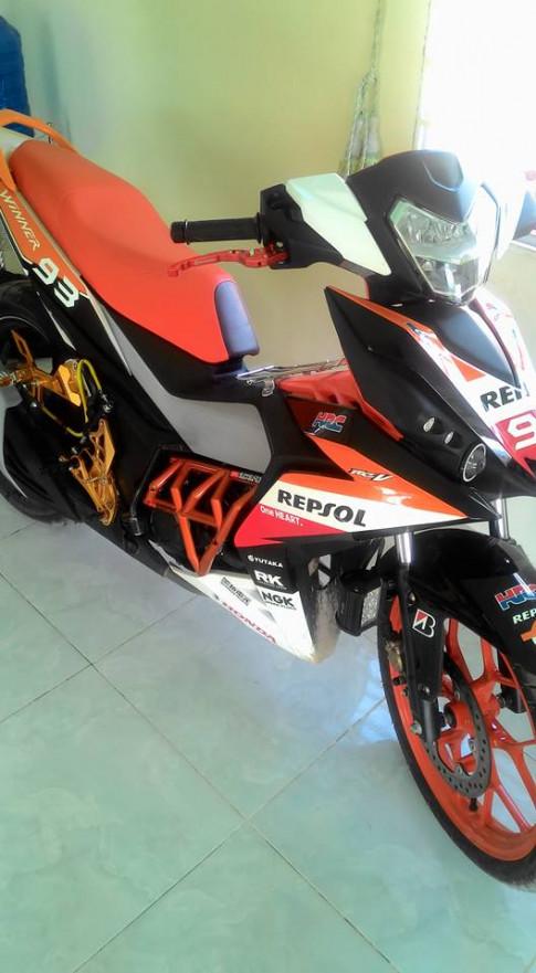 Winner 150 Repsol chói chang của biker Phan Rang