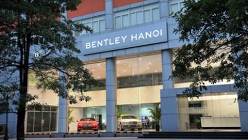 Xe siêu sang Bentley chính thức có mặt tại Việt Nam