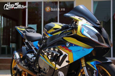 BMW S1000RR bản nâng cấp cực chuẩn với phong cách đậm chất Racing