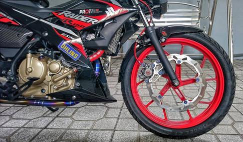 Suzuki Raider Fi với gói độ đầy hiệu năng và đẳng cấp của biker Việt